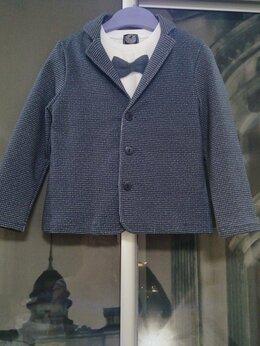 Пиджаки - Пиджак + лонгслив для мальчика, р.104, 0