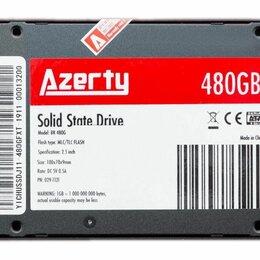 """Внутренние жесткие диски - SSD накопитель Azerty 2.5"""" 480gb, 0"""
