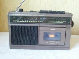Музыкальные центры,  магнитофоны, магнитолы - Магнитола  CROWN  CRC-715 (JAPAN  - 1976 г.) -…, 0