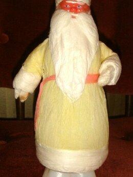 Новогодние фигурки и сувениры - Дед Мороз папье маше 30х годов, 0