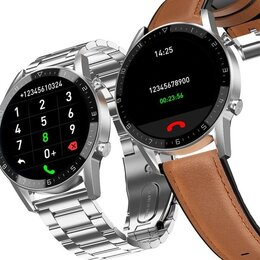 Умные часы и браслеты - Новые часы с разговором и датчиками, 0