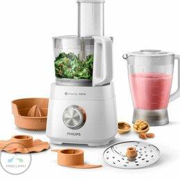 Кухонные комбайны и измельчители - Кухонный комбайн Philips HR 7510/00, 0