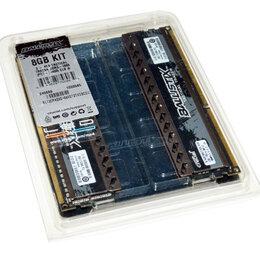 Модули памяти - Оперативная память DDR3 Crucial 2х4Gb 1866Mhz CL9 1.5v. KIT. Подсветка., 0