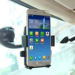 Держатели мобильных устройств - Автомобильный держатель телефона с беспроводной зарядкой, 0