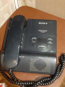 Проводные телефоны - Стационарный телефонный аппарат Sony IT-A200, 0