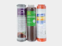 Фильтры для воды и комплектующие - Комплект картриджей Гейзер №17 (для Гейзер Макс), 0