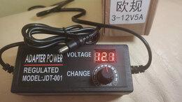 Блоки питания - 3В-12В 5А Блок питания с регулируемым напряжением, 0