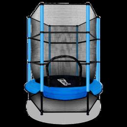 Надувные комплексы и батуты - ARLAND Мини батут с защитной сеткой (СИНИЙ), 0