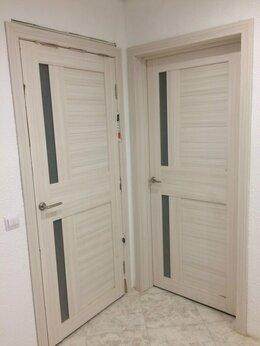 "Межкомнатные двери - Дверь межкомнатная экошпон ""2С1М"" беленый дуб, 0"