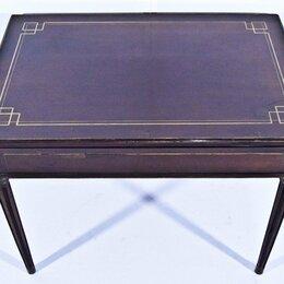 Столы и столики - Раскладной игральный стол в стиле Ампир. , 0