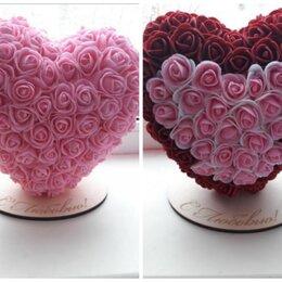Цветы, букеты, композиции - Сердце и топиарии из роз, 0