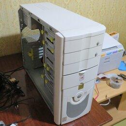 Настольные компьютеры - 2 ядра, 2 гига, Intel GMA 950, 80 гб, 7-ка, игры, 0