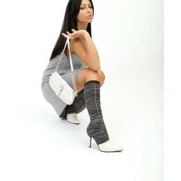 Колготки и носки - Эффектные гетры с прорезью, 0