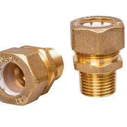 Водопроводные трубы и фитинги - Муфта соединительная для гофрированной трубы, 0