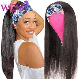 Аксессуары для волос - Парик из натуральных волос на ленте, 0