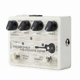 Процессоры и педали эффектов - Педаль эффектов Caline CP-67 DI Box for Acoustic, 0
