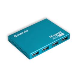 USB-концентраторы - Концентратор USB2.0 на 7 портов Defender SEPTIMA S, 0