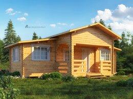 Готовые строения - Садовый домик  из  мини-бруса 9х6 «Белый лебедь», 0