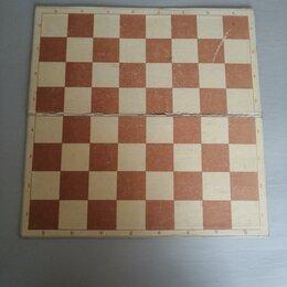 Настольные игры - Шашечно-шахматная доска + детская игра + пазл. Цена за всё, 0