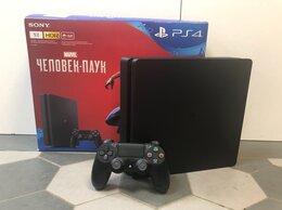 Игровые приставки - Игровая приставка Sony Playstation4 Slim 1TB PS4, 0