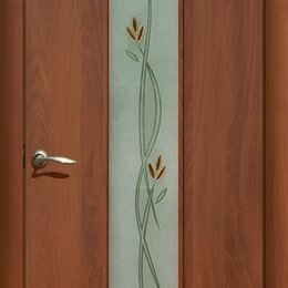 Межкомнатные двери - Ламинированные межкомнатные двери с остеклением , 0