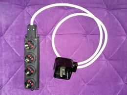 Электроустановочные изделия - Трехфазный удлинитель-переходник, 38 ампер, 0
