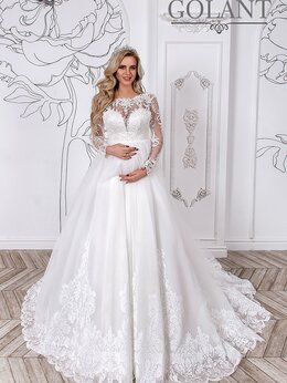 Платья - Свадебное платье для беременных Власта размер…, 0