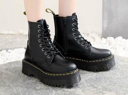 Ботинки - Ботинки Dr. Martens Jadon Черные на платформе…, 0