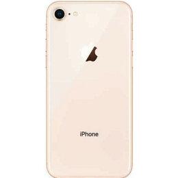 Корпусные детали - Корпус iPhone 8 (золотой), 0