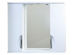 Шкафы, стенки, гарнитуры - Зеркало в ванную с двумя шкафчиками и подсветкой…, 0