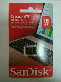 USB Flash drive - Флешка Sandisk Cruzer Fit sdcz33-016G-G35 16 Гб, 0