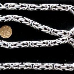Цепи - Серебряная цепь Кардинал/Византия.Вес 200 грамм,длина 61 см, 0