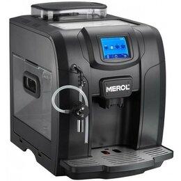 Кофеварки и кофемашины -  Кофемашина Merol ME-715 Black OFFICE, 0
