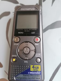 Диктофоны - диктофон Olympus WS-812, 0