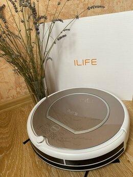 Роботы-пылесосы - ILIFE v55 Pro (Gray) для сухой и влажной уборки, 0
