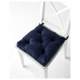 Подушки - Новые  Подушки   икеа на стул IKEA МАЛИНДА .Цвет темно синий.399р.В наличии!, 0