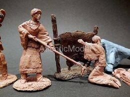 Фигурки и наборы - солдатики 1 32 Barzso Лагерь индейцев Пауни 10…, 0