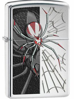 Пепельницы и зажигалки - Зажигалка Zippo spider, 0