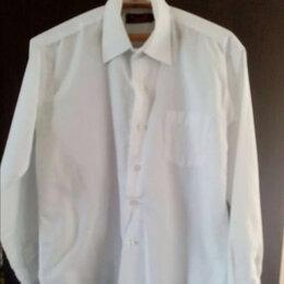 Рубашки - Рубашка белая с длинными рукавами для мальчика 6-8 лет., 0
