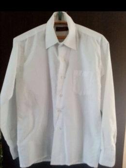 Рубашки - Рубашка белая с длинными рукавами для мальчика…, 0