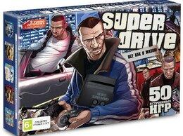 Ретро-консоли и электронные игры - Игровая приставка 16 bit Super Drive GTA (55 в…, 0