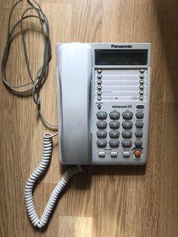 Проводные телефоны - Телефон стационарный Panasonic, 0