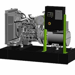 Электрогенераторы и станции - Дизельный генератор Pramac GSW150P, 0