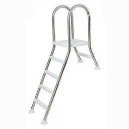 Лестницы и поручни - Лестница для сборного бассейна Kripsol SEMIELEVATED 4+1 ст., 0