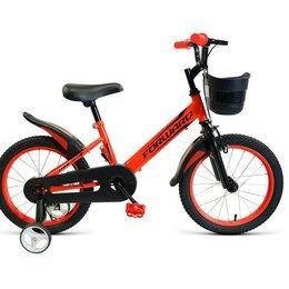 Велосипеды - Детский велосипед FORWARD Nitro 16 красный (2021), 0