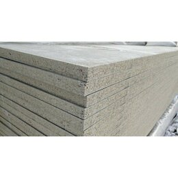 Фасадные панели - Цементно стружечная плита ЦСП 8 мм, 3,2х1,25м, 0