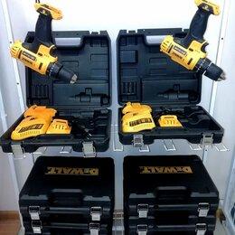 Аккумуляторные отвертки - шуруповерт 14.4 - 18 - 21 V, 0