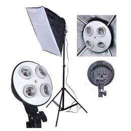 Осветительное оборудование - Набор Фототом 30557Fu-1 (осветитель, софтбокс,…, 0