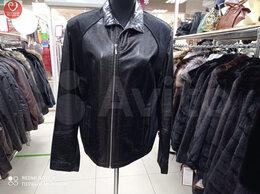 Куртки - Куртка мужская кожаная с мехом, 0