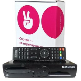 Спутниковое телевидение - Комплект телекарта, 0
